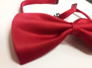 Tie - Tie butterfly red