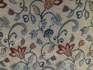 Curtains with flower design - Gobelin fabrics