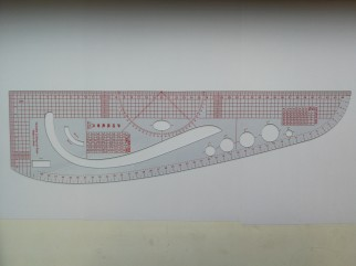 Sewing accessories - Tailor ruler