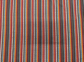 Cotton and Linen fabrics - Cotton Fabric with strips